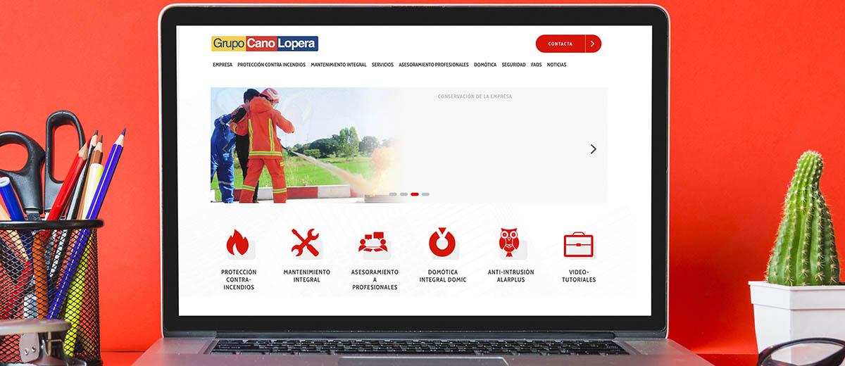 Cano Lopera nueva web